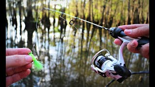 Download Micro Fishing for a New Pet Crappie! Video