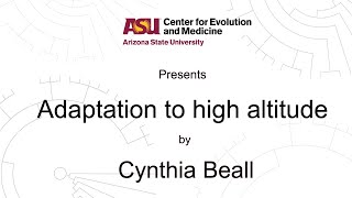 Download Adaptation to high altitude | Cynthia Beall | CEM Video