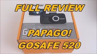 Download Papago! GoSafe 520 Full Review and Unboxing Video
