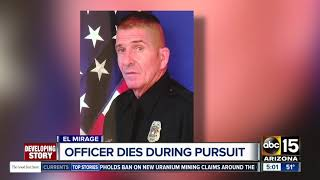 Download El Mirage officer dies during pursuit Video