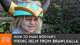 Download How to make Bödvar's Viking Helm from Brawlhalla Video