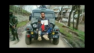Download Kashmiri man tied in front of army's jeep, video goes viral Video