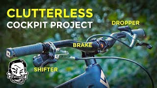 Download Clutterless MTB Cockpit with Wireless Shifting and Dropper! | Barspin Ready Video