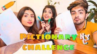 Download PICTIONARY CHALLENGE! ✏️Ft. Aashna & Sanket | Ashi Khanna Video