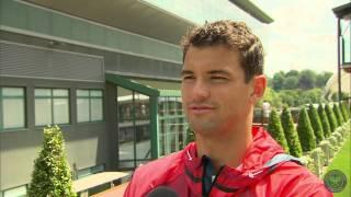 Download Grigor Dimitrov takes the Wimbledon fan quiz Video