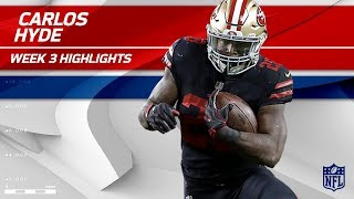 Download Carlos Hyde Powerful 2 TD Game!💪 | Rams vs. 49ers | Wk 3 Player Highlights Video