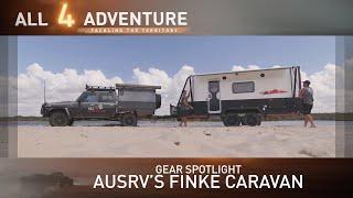Download Gear Spotlight: AusRV's Finke Caravan Details ► All 4 Adventure TV Video