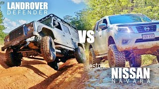 Download Defender VS Navara - Offroad adventure test Video