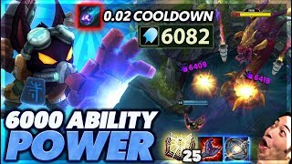 Download I LITERALLY ONE-SHOT THE NEXUS | MOST AP EVERRR!!! | 6,000 AP VEIGAR - BUNNY FUFUU Video