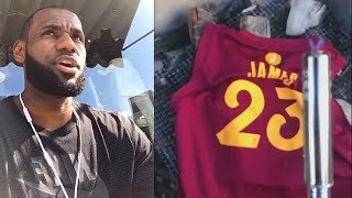 Download LeBron James Thanks Cleveland After Joining Lakers & Cavaliers Fans Don't Burn His Jersey! Video