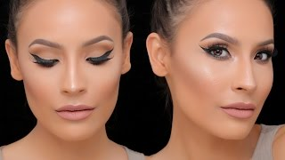 Download FULL COVERAGE FOUNDATION W/ CONTOUR / HIGHLIGHT + SIMPLE EYE LOOK Video