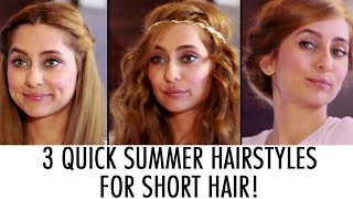 Download 3 Quick Summer Hairstyles | Anusha Dandekar Video