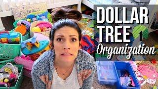 Download DOLLAR TREE ORGANIZATION OF KIDS ROOM // Fitting THREE Kids In One Room Video