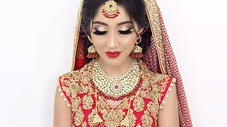 Download Traditional Asian Bridal Hair and Makeup Video