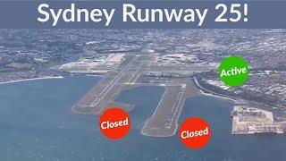 Download Sydney Runway Closure! Qantas A330 turbulent landing. East / West Runway 25 in heavy wind. Video