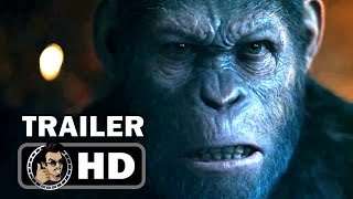 Download WAR FOR THE PLANET OF THE APES - Official Trailer #1 (2017) Andy Serkis Sci-Fi Action Movie HD Video