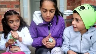 Download Kids search for bugs beside the house! family fun video for children Video