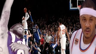 Download JUST GIVE THE BALL TO HESO MELO!!! KNICKS vs SIXERS HIGHLIGHTS REACTION Video