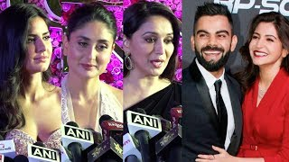 Download Bollywood Celebs' Weird Reaction On Anushka Sharma- Virat Kohli Marriage | Lux Golden Rose Awards Video