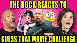 Download THE ROCK REACTS TO GUESS THAT MOVIE CHALLENGE (Ft. Skyscraper Cast) Video