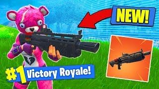 Download *NEW* LEGENDARY HEAVY SHOTGUN GAMEPLAY In Fortnite Battle Royale! Video