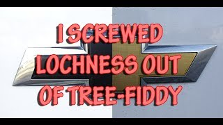Download Chevy Emblem logo bowtie matte black wrap color change Oracal/3M Video