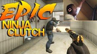 Download CS:GO - The Most EPIC Ninja Clutch! Video