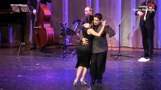 "Download Milonga ″Querida″. Noelia Hurtado & Carlos Èspinoza with ""Solo Tango"" orchestra. Танго. Video"