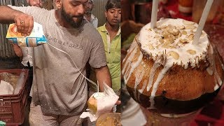 Download COCONUT SHAKE MASTER | Amazing Milk Pouring Skills | Indian Street Food Video
