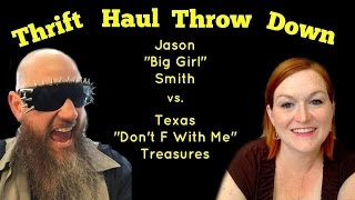 Download Thrift Haul Throw Down Margaret Collier vs Jason T Smith Video