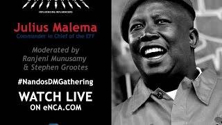Download Julius Malema at The Gathering Video
