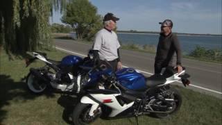 Download Suzuki GSX R750 Motorcycle Experience Road Test Video