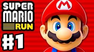 Download Super Mario Run - Gameplay Walkthrough Part 1 - World 1, Toad Rally, and Kingdom Builder! (iOS) Video