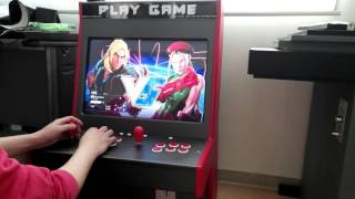Download LCD Arcade Cabinet / Hyperspin & Steam SFV Video