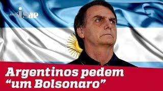 Download Argentinos pedem ″um Bolsonaro″ Video