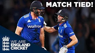 Download The Best ODI Ever? England Tie Match With Six Off The Last Ball v Sri Lanka 2016 Video