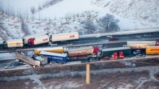 Download The Scariest Truck Crashes and Road Accidents of All Time - Part 4 Video