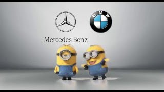 Download Mercedes-Benz vs. BMW Minions Style Video