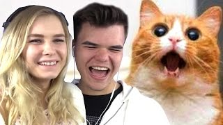 Download TRY NOT TO LAUGH CHALLENGE w/ GIRLFRIEND Video