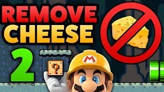 Download Super Mario Maker - HOW TO REMOVE CHEESE! - Tutorial [Part 2] Video