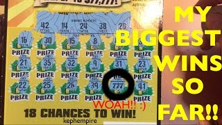 Download MY BIGGEST AND BEST WINS SO FAR playing California Lottery Scratchers - Updated September 26th 2016 Video