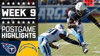 Download Titans vs. Chargers | NFL Week 9 Game Highlights Video