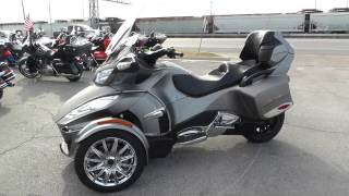 Download 002366 - 2014 Can Am Spyder RT - Limited SE6 - Used motorcycle for sale Video