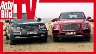 Download Test Bentley Bentayga vs Range Rover - W12 gegen V8 SUV (TTB 2016) Video