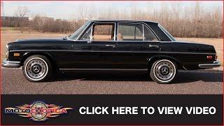 Download 1973 Mercedes-Benz 280 SE 4.5 (SOLD) Video