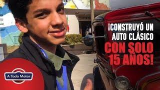 Download ¡Con solo 15 AÑOS hizo esta replica increíble de un auto clásico! 🔥🛠️ Video