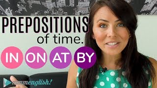 Download Prepositions of TIME 👉 IN / ON / AT / BY 👈 Common English Grammar Mistakes Video