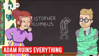Download Adam Ruins Everything - Christopher Columbus Was a Murderous Moron | truTV Video