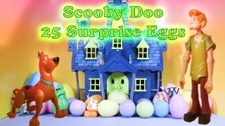 Download The Scooby Doo Spooky Surprise Eggs Opened by The Assistant Video