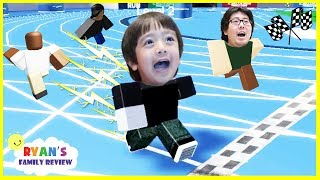 Download Ryan and Daddy Game Night! Let's Play Roblox Speed Run with Ryan's Family Review! Video